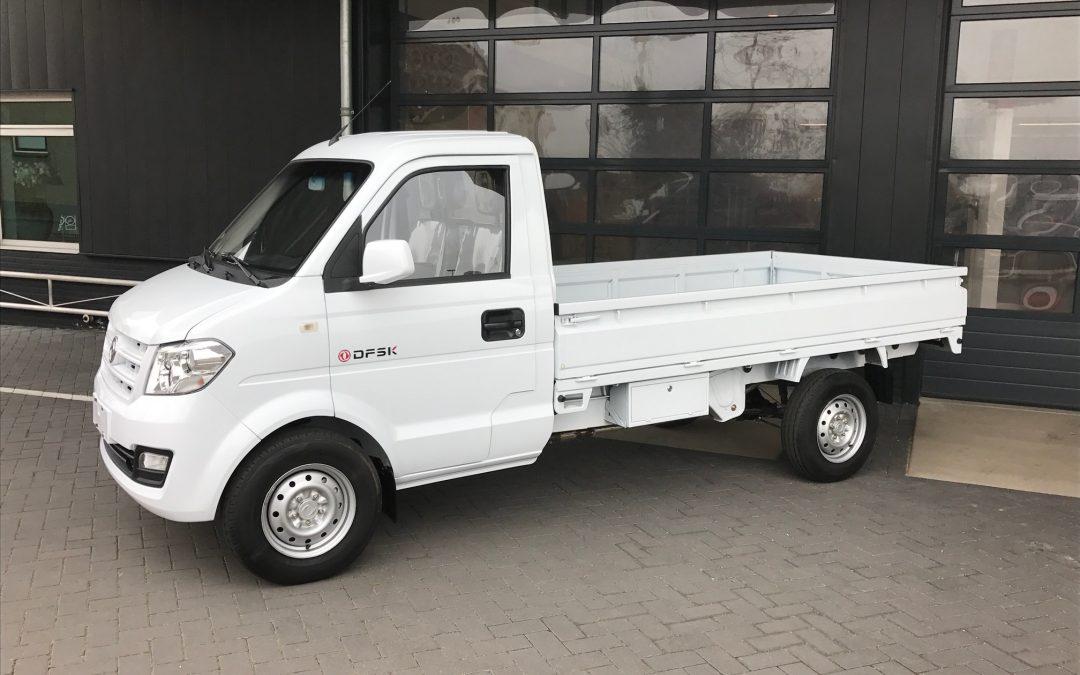 Nieuw leverbaar in Nederland; de C31 mini truck